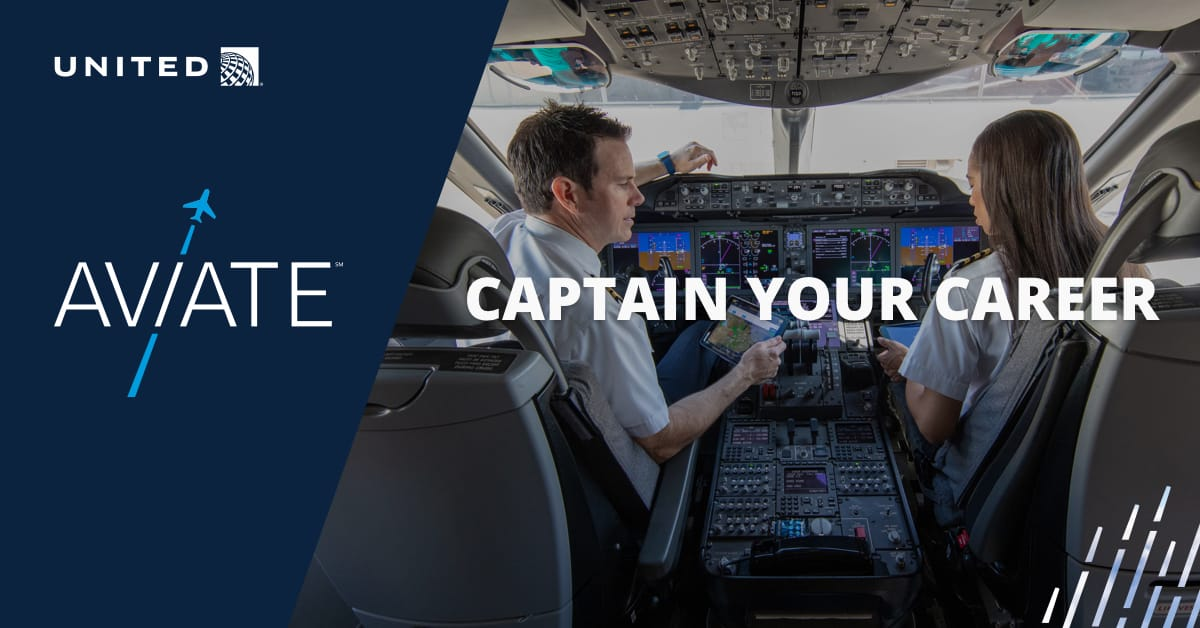 United Aviate Program Become A Pilot At United Airlines
